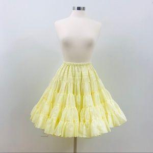 Vintage square dance skirt crinoline petticoat
